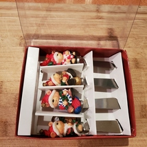 Xmas Bear Spreadables, set of 4, Christmas spreaders cheese knife, butter knives image 4