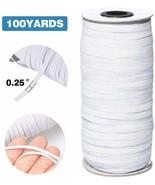Flat Elastic Band Braided Stretch Strap Cord Roll Heavy High Elasticity ... - $18.50