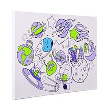 Space Elements CANVAS Wall Art Home Dcor - $26.24