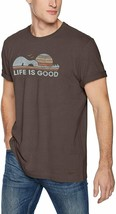 """NWTS!   LIFE IS GOOD MENS  """"GUITAR SUN""""  S/S VINTAGE CRUSHER TEE....(XXL) - $27.72"""