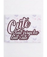 """FUNNY NEW CUTE, BUT PSYCHO HANGING WALL ART DECORATION CANVAS """"PAINTING""""... - $10.69"""