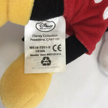"""Mickey Mouse Disney 10"""" Inch Tall Bean Bag Stuffed Animal Plush Doll Toy Gift image 5"""