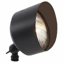 Brass Spot Light in Antique Bronze Finish W/ 10W Waterproof LED Warm White - $54.99