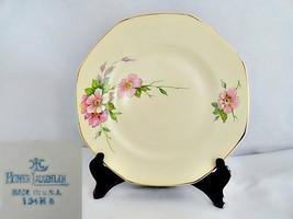 Homer Laughlin Wild Rose Yellowstone Luncheon Plate - $14.01