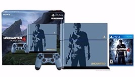 PlayStation 4 PS4 Limited Edition 500GB Uncharted 4 A Theif's End Bundle... - $346.48