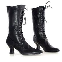 Ellie Shoes Amelia Vittoriano Maglia Gotica 6.3cm Scarpe Tacchi Stivali - $949,50 MXN
