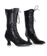Ellie Shoes Amelia Vittoriano Maglia Gotica 6.3cm Scarpe Tacchi Stivali - $52.36