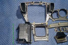 01-07 Toyota Highlander Woodgrain Dash Trim Kit Vents Console 8pc image 8