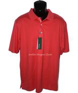 NWT BOBBY JONES Golf polo shirt M orange golfer placket authentic men's ... - $56.25