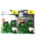 (2 Packs) Febreze 0.13 Oz Car Pet Odor Eliminator Fresh Scent 2 Count Ve... - $23.75