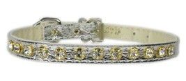 Mirage Pet Products No.10 Dog Collar, 12-Inch, Silver - $16.78