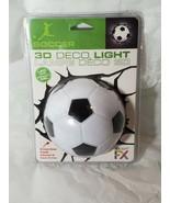 OFFICIAL FX 3D DECO LIGHT FUTBOL/SOCCER BALL BATTERY OPERATED SCREWS INC... - $9.30