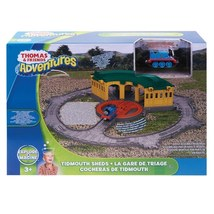 Fisher-Price Thomas the Train Take-n-Play Tidmouth Sheds Adventure Hub - $60.00