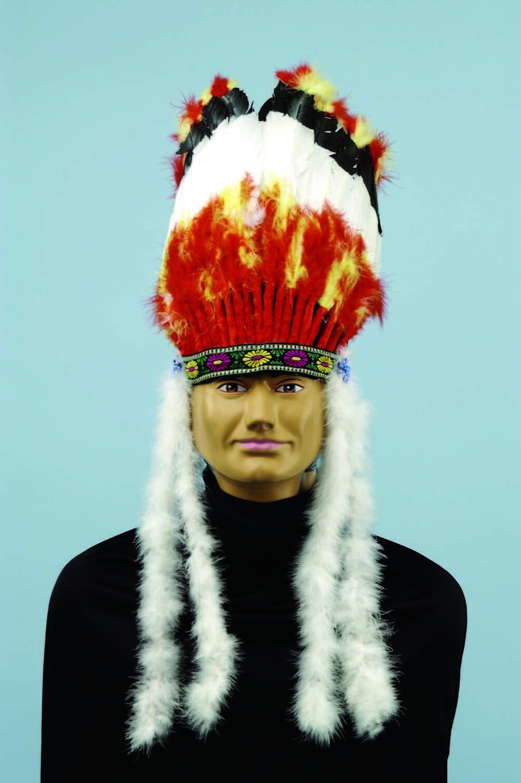 Forum Novelties Native American Indian Chief Headdress Halloween Accessory 57572