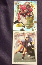 Tampa Bay BuccaneersMike Alstott and Warrick Dunn RB Football Trading Cards AA- image 1