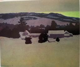 """Maxfield Parrish Vintage Bookplate Print """"Daniel's Farm"""" 1937 - $10.00"""
