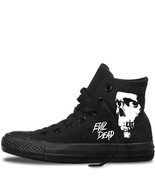 evil dead custom converse chuck taylor all star mens womens horror hoodi... - $119.57
