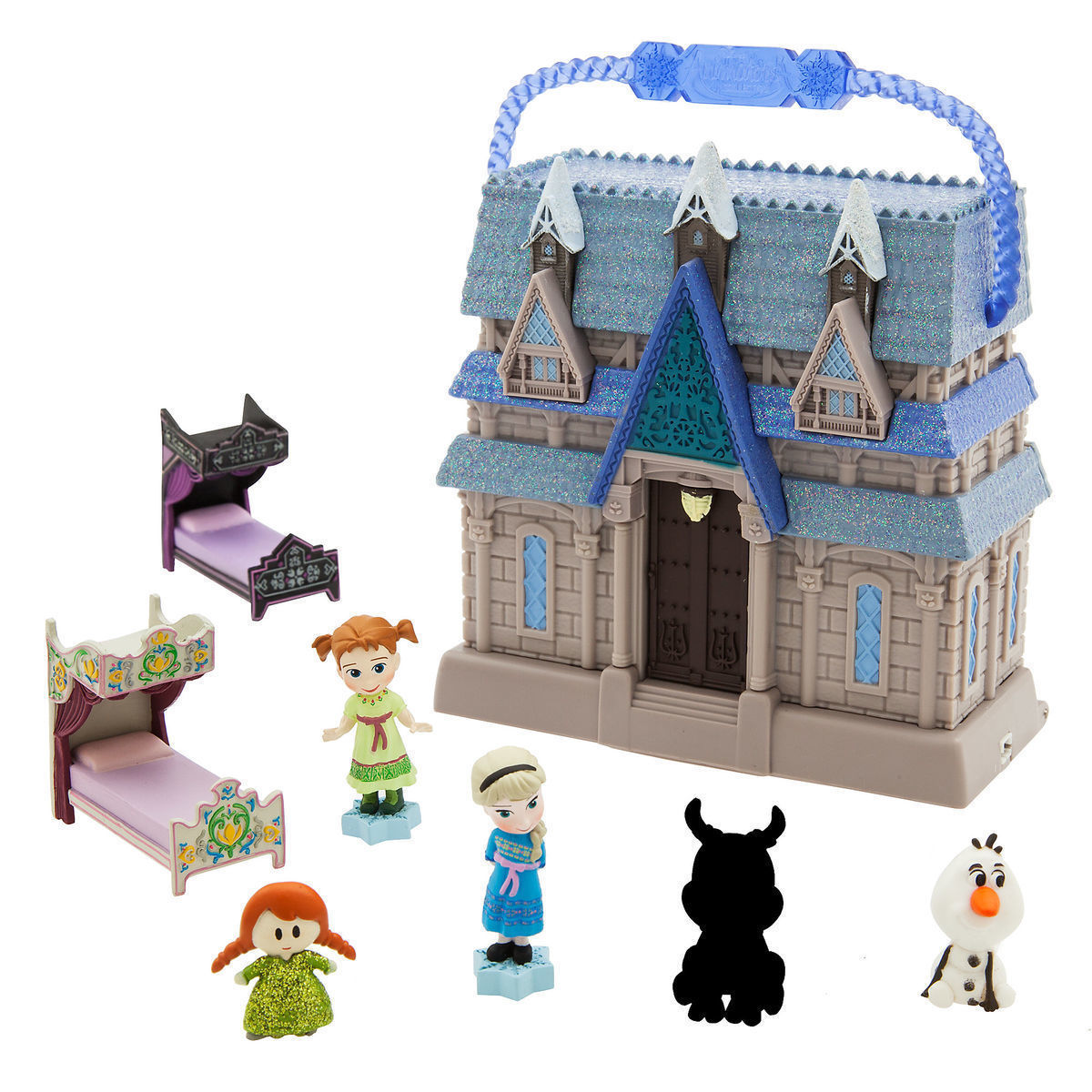 Disney Animators Little Collection Arendelle Castle Surprise Playset Frozen Elsa