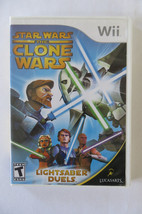 Star Wars: The Clone Wars - Lightsaber Duels  (Wii, 2008) - $4.99