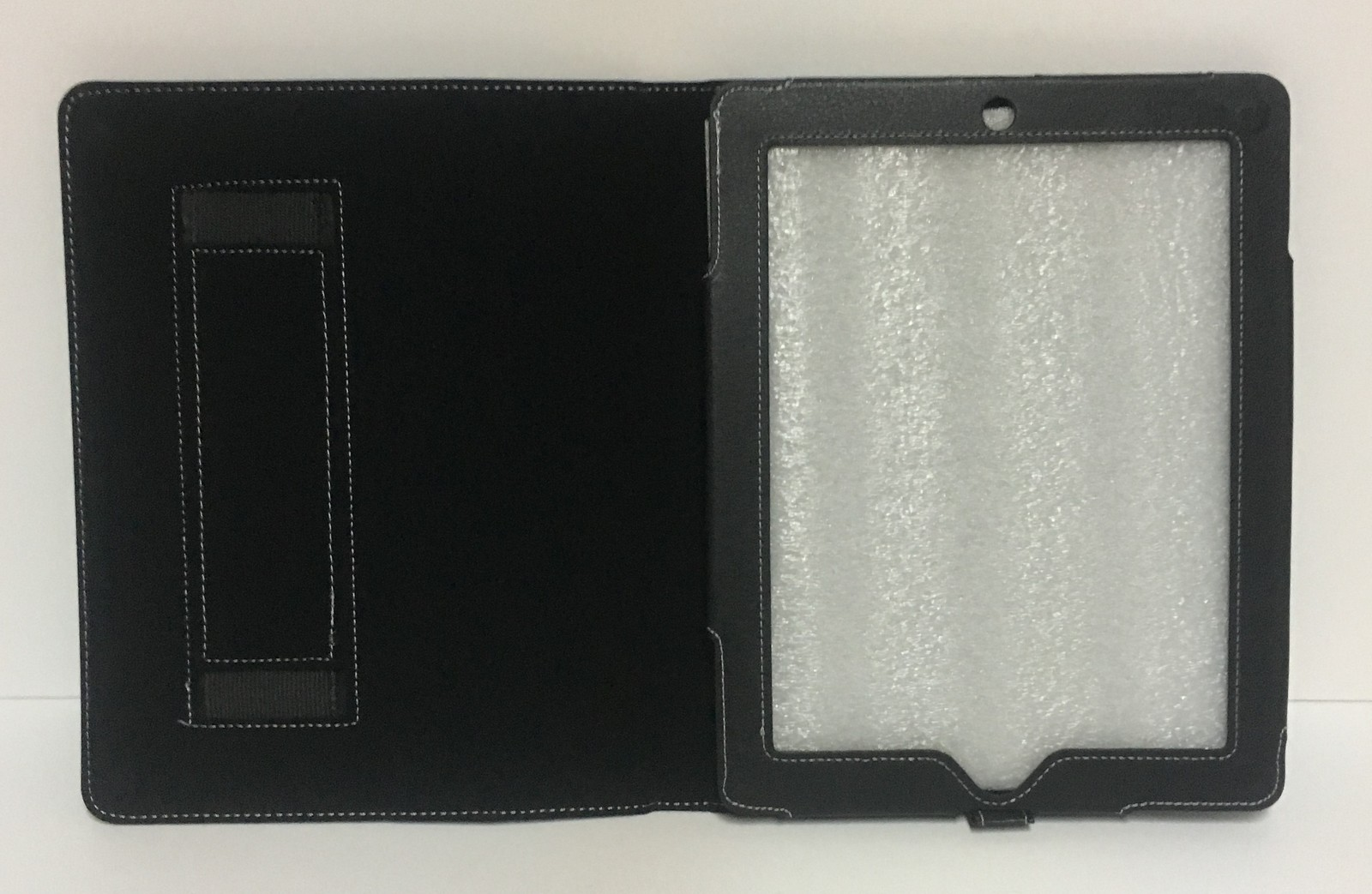 """Tablet Reader iPad Protection Case Black 9"""" x 6"""" Screen Faux Leather"""
