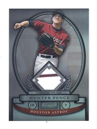 2008 Bowman Sterling Hunter Pence Game Used Jersey Refractor SN: 111/199 - Baseb