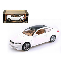 BMW M3 E92 Coupe White 1/24 Diecast Model Car by Motormax 73347w - $27.72