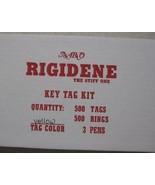 used car New Yellow Key Tags Rigidene Plus Free Sunglasses Fast Shipping... - $32.95
