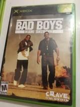 Bad Boys: Miami Takedown (Microsoft Xbox, Xbox 2004) Complete - $9.89