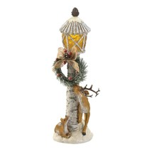 #10019062  Reindeer Light-Up Light Post Figurine - $43.83