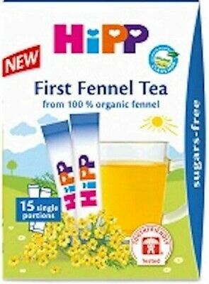 Hipp baby fennel tea x15 healthy drink for