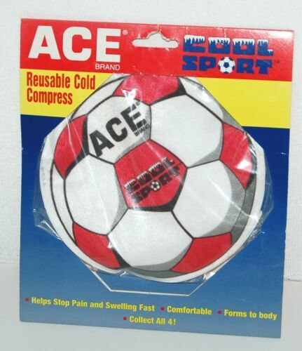 Ace 202062 Cool Sport Reusable Cold Compress Soccer Ball