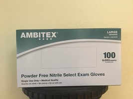 Ambitex Nitrite EXAM Gloves Medical Quality/Calidad Medica N400 ALL SIZES - $14.99+