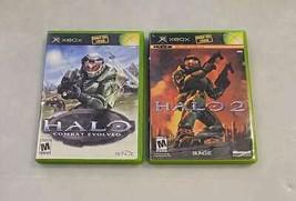 Original Halo & Halo 2 Set for Microsoft XBox CIB Great Shape! - $28.71