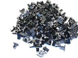 LEGO Black Technic Pin Connector Plate 1x2x1 2/3 2 Holes Lot of 100 Part... - $4.94