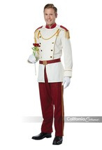 California Costumes Royal Storybook Prince Adult Mens Halloween Costume ... - £35.94 GBP
