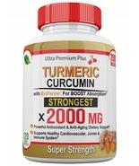 Ultra Premium Plus Limited 2000mg Turmeric Curcumin with BioPerine 120 Caps - $113.44