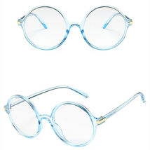 New Fashion Nerd Style Round Clear Lens Glasses Frame Retro Casual Daily Eyewear image 4