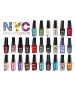 Lot of NYC In A New York Minute Nail Polish Gift Set 10-piece Random Col... - $29.39