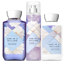 Bath & Body Works One In A Million Trio Deluxe Gift Set - $40.13