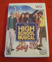 High School Musical: Sing It (Nintendo Wii, 2007) - $4.46