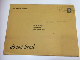 Vintage White House Manilla Envelope Large 1974 Gerald Ford 23023 - $39.59