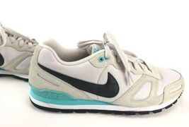 Nike Air Waffle Trainer Running Shoes 429628-032 Beige/Turquoise Men's Size 11 image 6