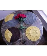 Macrame Handcrafted Boho coasters - $7.92+
