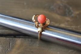 Vintage Avon Faux Coral Ring Size 5.25 - $9.50