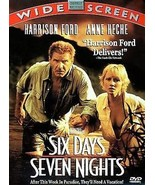 DVD Six Days Seven Nights: Harrison Ford Anne Heche D Schwimmer Temuera ... - $9.44