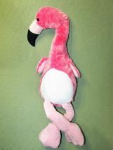 "18"" Fiesta FLAMINGO PROMO Hot Pink Plush Stuffed Animal Bird Floppy Toy ... - $26.18"