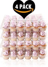 4 Pack Fill'nGo Carrier Holds 24 Standard Cupcakes - Ultra Sturdy Cupcak... - $28.43