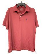 Men's Polo Ralph Lauren Performance Golf Shirt, Maroon, Size M - $69.30