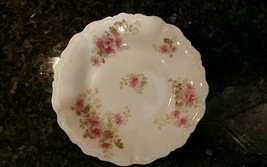Limoges Hand Painted LDBC Scalloped Bowl - $18.70