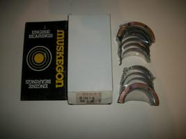 Muskegon NOS Main Bearing Set .020 For Some MOPAR 273 277 301 303 313 318 326 - $9.74